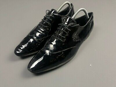 Vintage Gucci Oxfrod Black Shoes Size 43 for sale  Shipping to South Africa