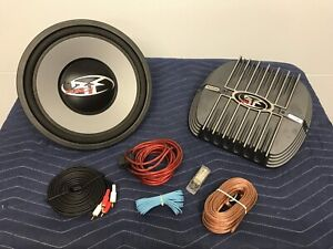 "Rockford Fosgate punch 12"" Sub and Amp"