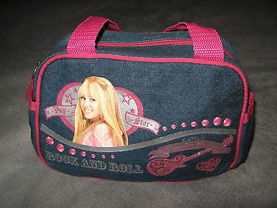 Miley Cyrus Hannah Montana Rock & Roll Pop Star Denim Disney Small Purse Handbag Hannah Montana Purse Handbag