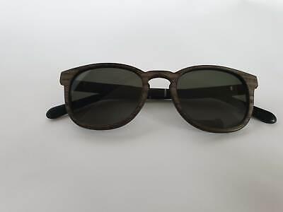 MTO/RIE137:1 Marken Holz Sonnenbrille Brille WOOD FELLAS Bogenhausen 10762 NEU