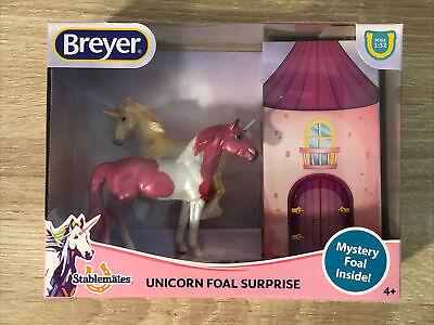 Breyer Horses Unicorn Foal Surprise Stablemates Pinto #5474 1:32 / NIB