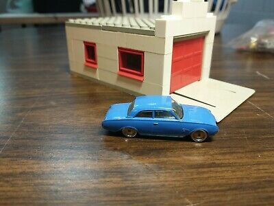 LEGO HO SCALE VINTAGE CLASSIC 1960'S FORD TAUNUS blue 17M RARE!