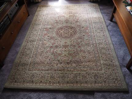 Floor Rugs, matching, 1 large, 3 small