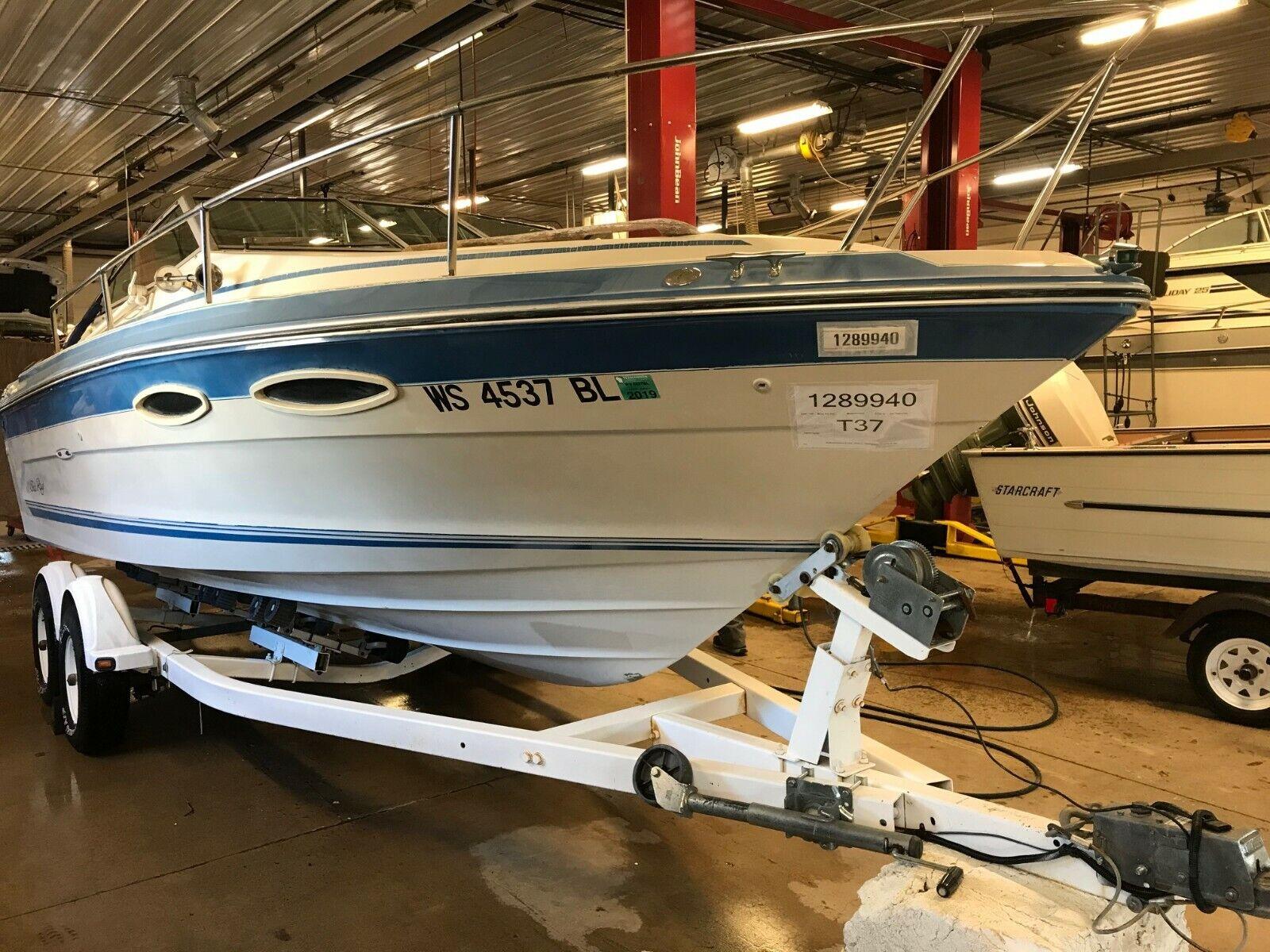 21' Sea Ray Cuddy Cabin 260HP Mercruiser EZ Loader Trailer T1289940