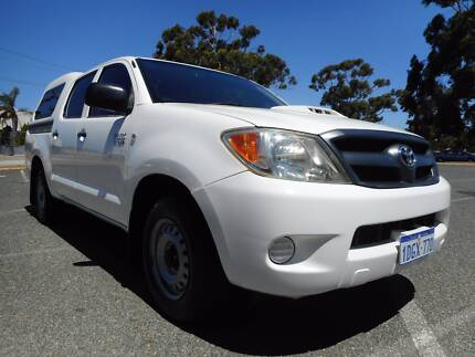 2007 TOYOTA HILUX SR KUN16R 07 UPGRADE DUAL CAB P/UP 3.0L DIESEL Wangara Wanneroo Area Preview