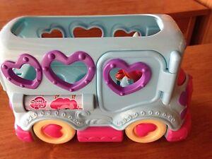 Playskool Friends MY LITTLE PONY FRIENDSHIP BUS Toddler Toy
