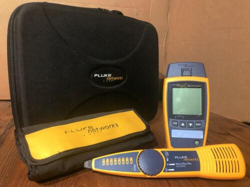 Fluke Networks IntelliTone Pro 200 Probe & Micro Scanner 2 Ethernet Verifier Kit