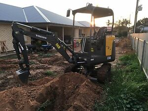 Dry hire Mini Excavator ($260 per day) Northgate Port Adelaide Area Preview