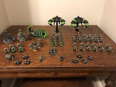 Warhammer 40k Necron army Lot