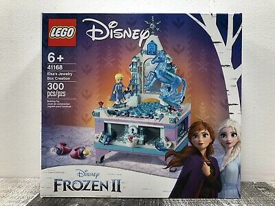 LEGO 41168 Disney Frozen II Elsa's Jewelry Box Creation NEW + Free Shipping