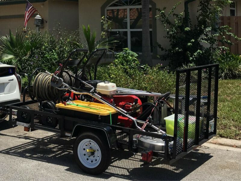 Pressure washing trailer,excellent condition, ready to go
