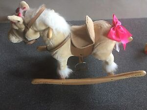 Like new rocking horse with sound effects