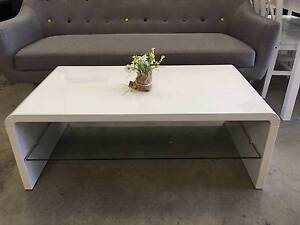 Brand New & High Quality High Gloss Coffee Table Black/White Clayton South Kingston Area Preview