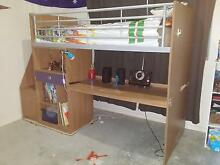bunk bed with desk Hallidays Point Greater Taree Area Preview