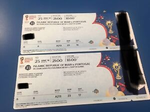 World cup tickets for sale Iran vs Portugal