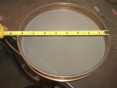 Gilson Us Standard Test Sieve 8 300 Um 0.0117 No. 50 Brass 653