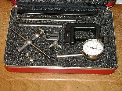 Starrett Dial Test Indicator No196a1z W Case Attachments - Super Clean