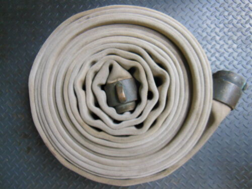 """Akron FIRE HOSE 3"""" x 50 ft. with heavy NH Brass Couplings"""