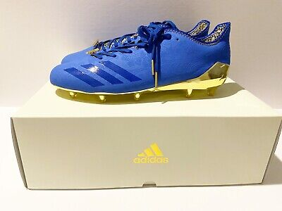 ADIDAS adizero 5-Star 6.0 Sundays Best Football Cleats Blue Gold BW0882 Size 13