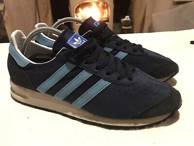 Adidas Originals Marathon 85 Size UK 10 Grade 1 Dark Slate Blue 125