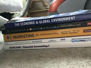 NSCC Business administrative textbooks
