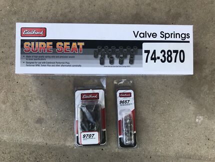 Edelbrock ls springs and retainers
