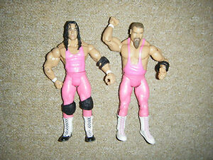 BRET-THE-HITMAN-HART-JIM-THE-ANVIL-NEIDHART-CLASSIC-SERIES-WRESTLING-FIGURE-WWE