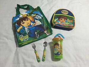 Great Bundle DIEGO items(Cooler Lunch Bag,Cutlery,Drink Bottle) Deception Bay Caboolture Area Preview