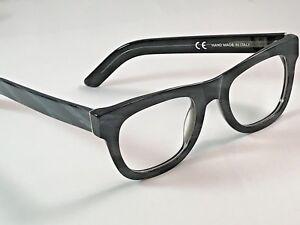 Retrosuperfuture Ciccio Optical Black Horn 06X Eye Size 50 Glasses