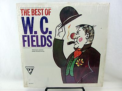 LP Record The Best of WC FIELDS SU-273 Temperance Lecture Dranka Glass of