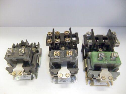 3 GE Contactors CR2810A14AC