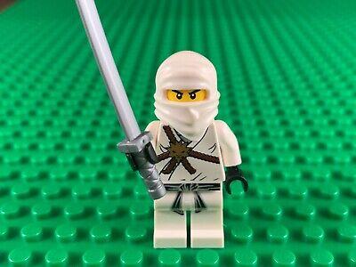 LEGO Ninjago Zane Minifigure The Golden Weapons Ninja 2506 2507 30080 Minifig