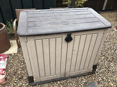 Keter Store-It-Out Midi Outdoor Plastic Garden Storage Shed