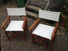Directors chairs. Hallam Casey Area Preview