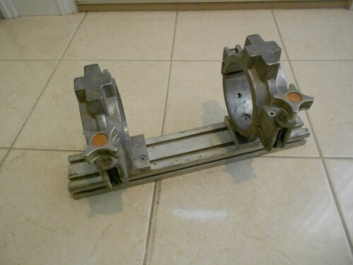 """CENTRAL ELECTROFUSION 4"""" PIPE CLAMP + GF +  MCELROY FUSION MACHINE"""