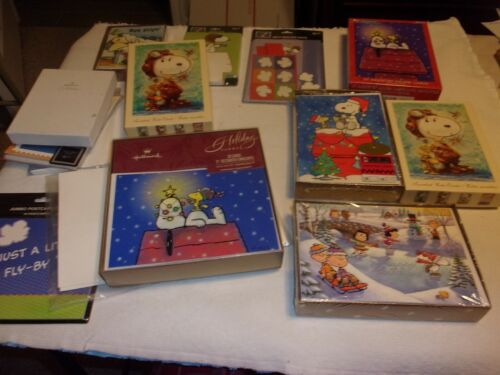 Huge Collection of Snoopy & Peanuts Stationary, Cards, Greetings and Notes
