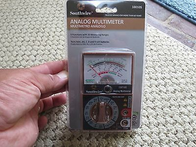 Southwire Analog Multimeter 10010s Lot8314