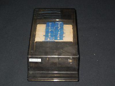 Vtg Rolodex Index Tab Card File Vip-24c Address Business Office Desk 2-14x4