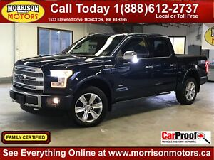 2015 Ford F-150 Platinum || FULLY LOADED! ||