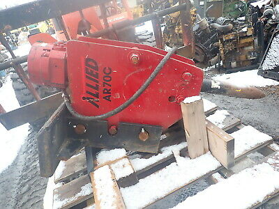 Allied Ar70c Jackhammer Attachment Hammer Ar70 Skidsteer Qa Bobcat Gehl
