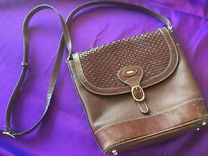 Vintage 1980's leather English Bally shoulder bag Mentone Kingston Area Preview
