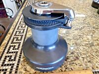 SINGLE (ONE ONLY) LARGE HARKEN 53 2 SPEED SELF TAILING WINCH VERY CLEAN!