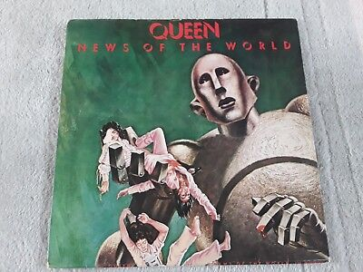 QUEEN - NEWS OF THE WORLD. RARE PORTUGUESE RELEASE. 1977. DIFFERENT LABELS..