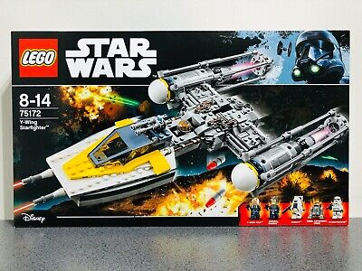 LEGO 75172 Star Wars Y-Wing Starfighter New & Sealed