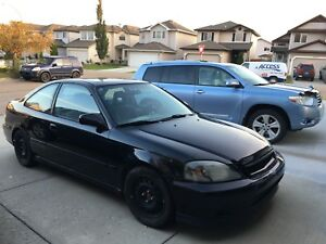 1999 Honda Civic SiR Coupe (2 door)
