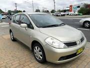 2009 NISSAN TIIDA ST AUTOMATIC 4D SEDAN GOLD Lansvale Liverpool Area Preview