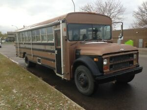 1975 Camperized chevy bus