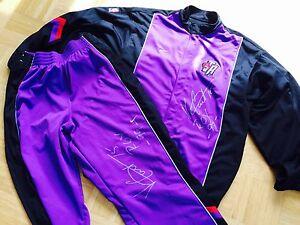 Vince Carter Raptors ROY Signed Authentic Nike NBA Trikot Basketball Jersey Suit