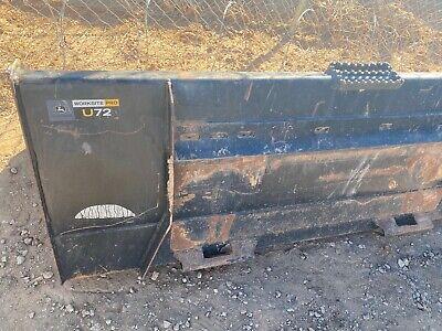 John Deere U72 Skid Steertractor 6 Bucket -bobcat Case Cat More