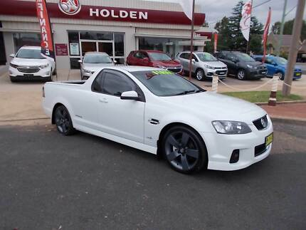2012 Holden Commodore Ute SV6 Thunder series 2 Manual Young Young Area Preview